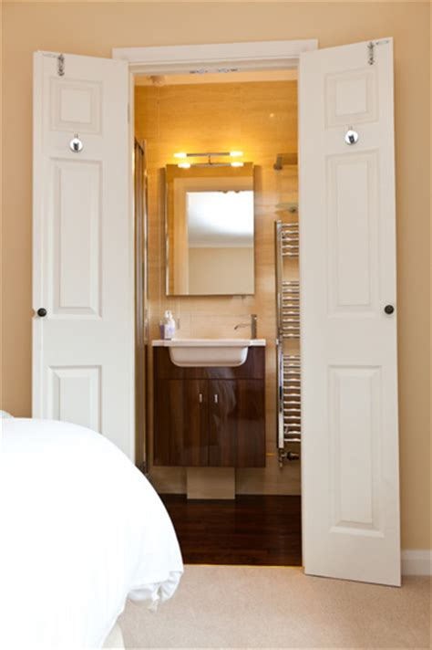 wardrobe becomes an en suite the owner converted a small