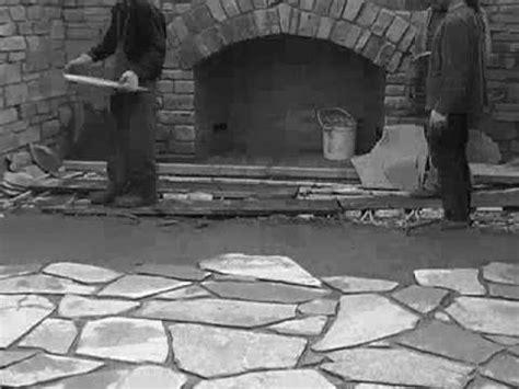 castles stone floor construction youtube