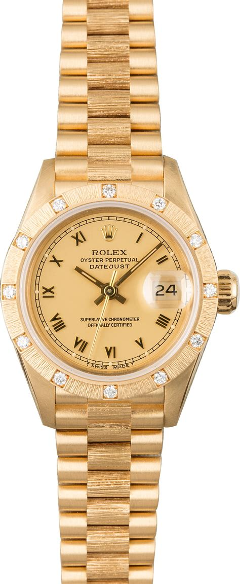 Buy Used Rolex 69288 | Bob's Watches - Sku: 120914