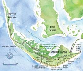 Sanibel Captiva Island Florida Map