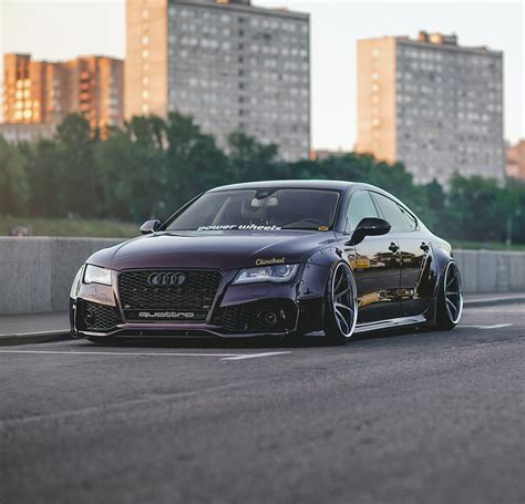Audi A7 4g Widebody Kit