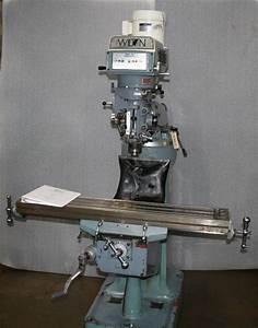 9 U0026quot  X 49 U0026quot  Wilton Manual Knee Mill For Sale
