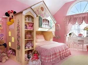 Cabane Chambre Fille : lit enfant cabane et solutions originales pour fille et gar on ~ Teatrodelosmanantiales.com Idées de Décoration