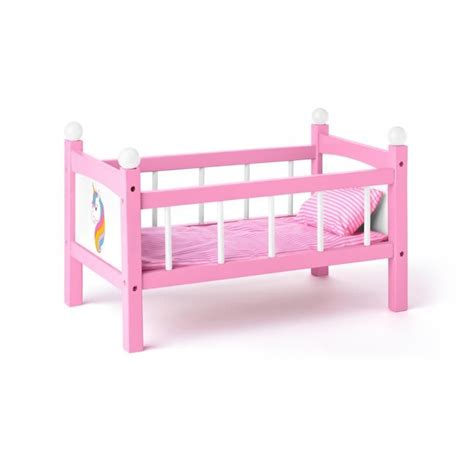 BABYTOWN.LV - Bērnu veikals - Leļļu gulta Vienradzis Woody
