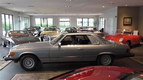 The car has the desirable sunroof and an automatic transmission. 1980 Mercedes-Benz 450SLC Sunroof Coupe for Sale at Daniel Schmitt & Co. - YouTube