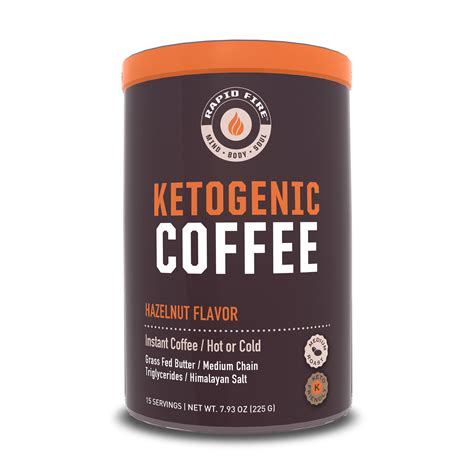 I tried it for the first time in my coffee yesterday, and it tasted like a mix of spoiled milk and really old frying grease. Rapid Fire Hazenlut Keto Instant Coffee Mix, 7.93 oz Canister - Walmart.com - Walmart.com