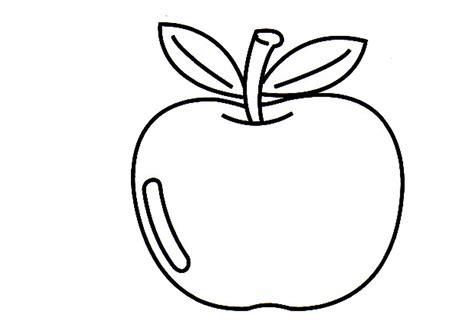 57 tren contoh gambar mewarnai buah apel