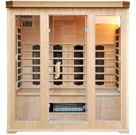 cuisine beton cire cabine luxe infrarouge 4 5 places 300