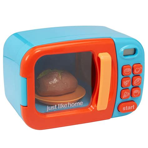 cuisine toys r us just like home microwave blue and orange toys r us