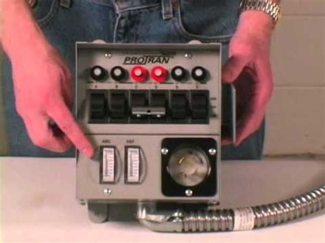 Installation Reliance Controls Circuit Amp Transfer