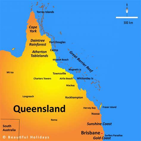 CRM Gun Sports - Queensland Map