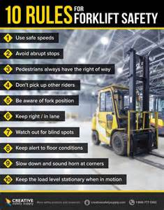 Fork Lift Safety Tips Workplace