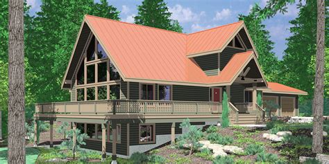 home plans for sloping lots sloping lot house plans hillside house plans daylight