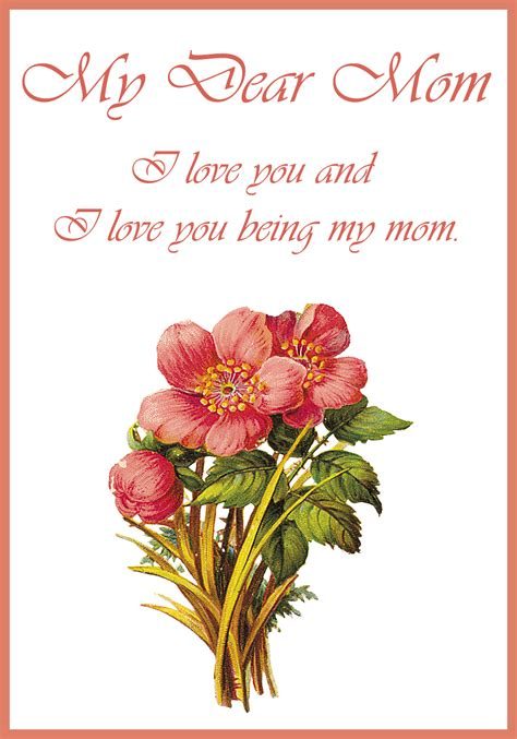 mothers day greeting cards  printable greeting cards