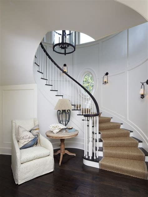 Round Staircase Design by Curved Staircase Houzz