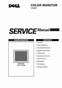 Dell 1700fp Color Monitor Service Manual Pdf Download