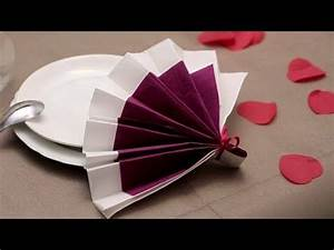 Pliage Serviette Papier Mariage : 55 best images about pliages de serviettes on pinterest ~ Nature-et-papiers.com Idées de Décoration
