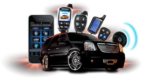 Car Alarms Gps Tracking Systems Sound Waves