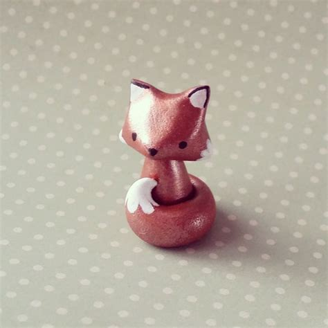 renard en pate fimo 17 best ideas about fimo on polymer clay clay