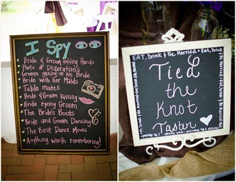 Diy Chalkboard Wedding Signstruly Engaging Wedding Blog