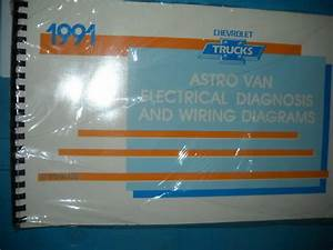 1991 Chevy Astro Van Electrical Wiring Diagrams Service