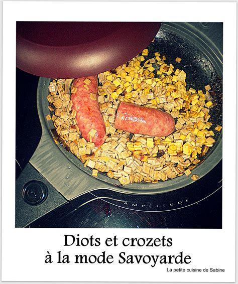 crozets et diots de savoie facile recette sur cuisine actuelle