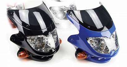 Headlight Fairing Universal Motorbike Dash Motorcycle Sports
