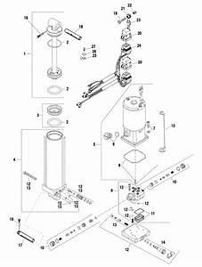 Force 120 Hp  1998  Power Trim Components Parts