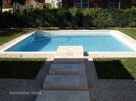 8x8 pool deck plans 8x8 ivory tumbled travertine pavers