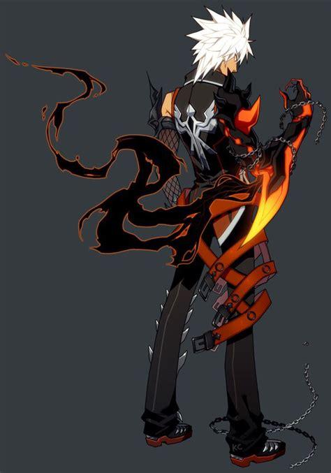 elsword anime character 207 best diabolic esper images on anime guys