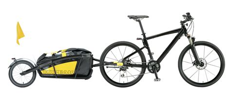 New Take On The Bicycle Cargo Trailer
