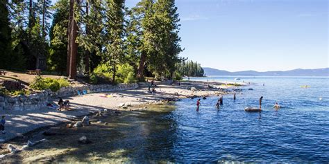 Dogs are allowed at paved areas, on campgrounds, and in the historic zone day use areas of ed z'berg sugar pine point state park. General Creek Campground   State park camping, Tahoe, Lake ...