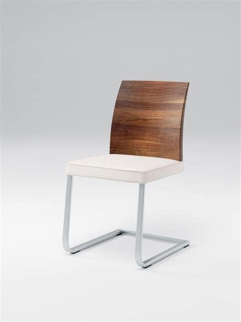 Stuhl Freischwinger Holz by Stretto Freischwinger Leder Mit Holzlehne St 252 Hle