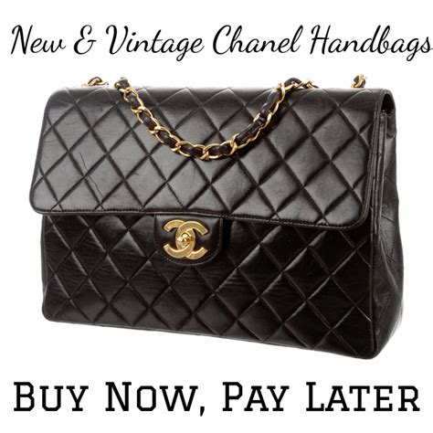 New & Vintage Chanel Handbags To Buy Now, Pay Later
