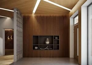 Deco Mur Interieur Moderne : maison d co nature moscou par bureau 108 ~ Teatrodelosmanantiales.com Idées de Décoration