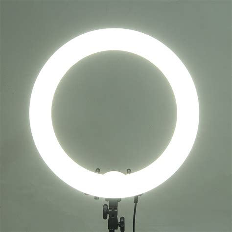 dimmable led ring light 18 inch 5500k 55w dimmable photo fluorescent led ring