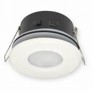 Spot Led Salle De Bain : spot tanche ip44 salle de bain blanc pour led ~ Edinachiropracticcenter.com Idées de Décoration