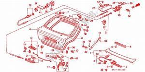 Tailgate For Honda Cars Civic 1 5i 5 Doors 5 Speed Manual 1996   Honda Cars