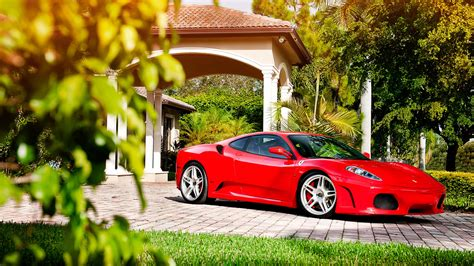 If you want to download ferrari cars , please click the wallpaper or the wallpaper background download link and the wallpaper will be downloaded in full size. Full HD Wallpaper ferrari side view mansion garden, Desktop Backgrounds HD 1080p