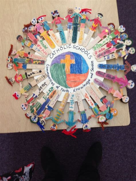 idea  catholic schools week   living rosary