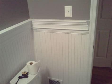 Chair Rail With Beadboard : Bathrooms With Chair Rail Molding