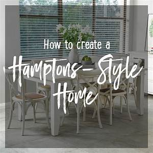 How To Create A Hamptons Style Home