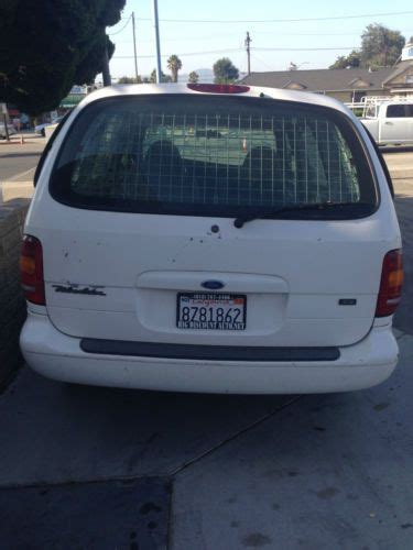 airbag deployment 1998 ford windstar parking system sell used 1998 ford windstar base mini cargo van 3 door 3 0l in canoga park california united
