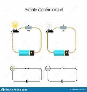 Simple Electric Circuit  Electrical Network And Lighting