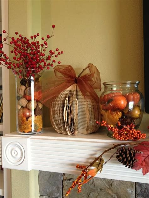 Decorating Fall Decorating Ideas For Your Mantel Walking