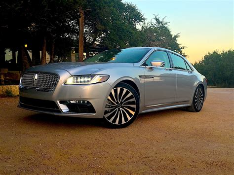 Luxurius Car : Cadillac Ct6 And Lincoln Continental Comparison