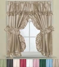 ruffle curtains ebay