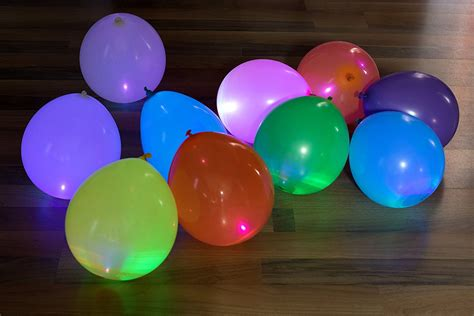 led balloon lights led light up balloons the green