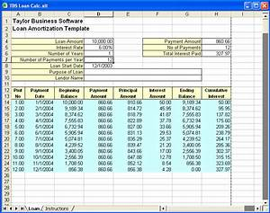 excel loan amortization template download ms excel With amortization formula excel template