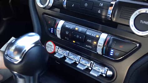 ford mustang ecoboost premium interior youtube